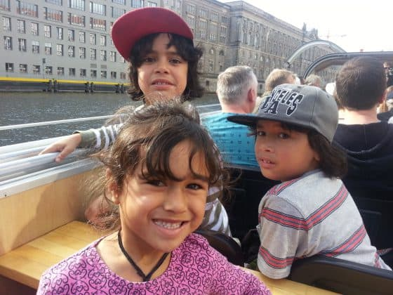 Boat tour on the Spree