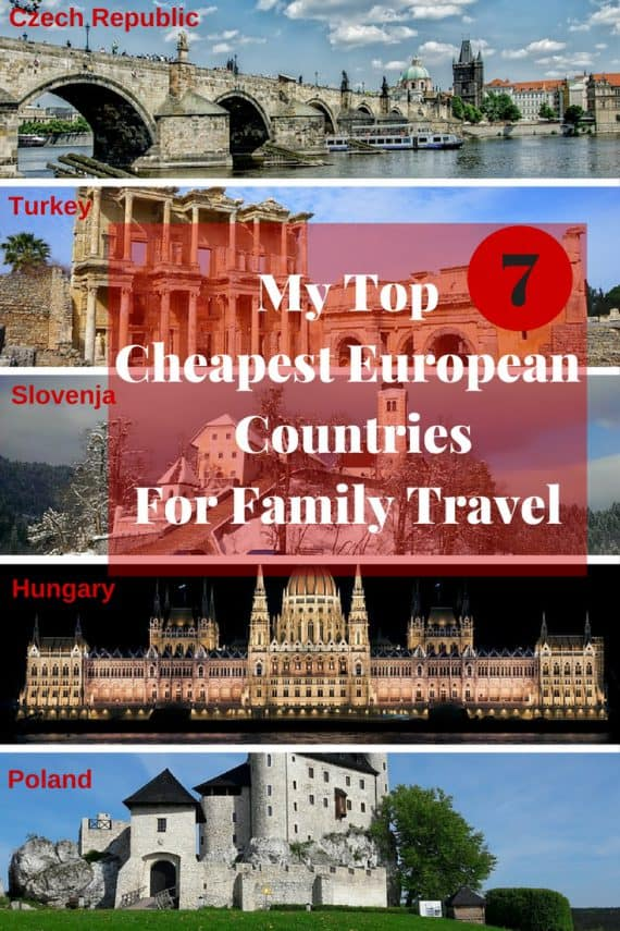 top 7 cheapest european countries for family travel