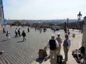 Place by Prague Castle
