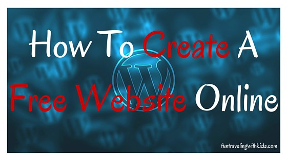 how to create a free website online