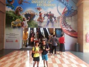 Universal Studios Singapore Sentosa Island