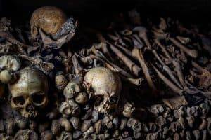 Le catacombes in Paris