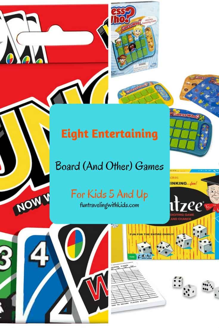 board games for kids 5 and up