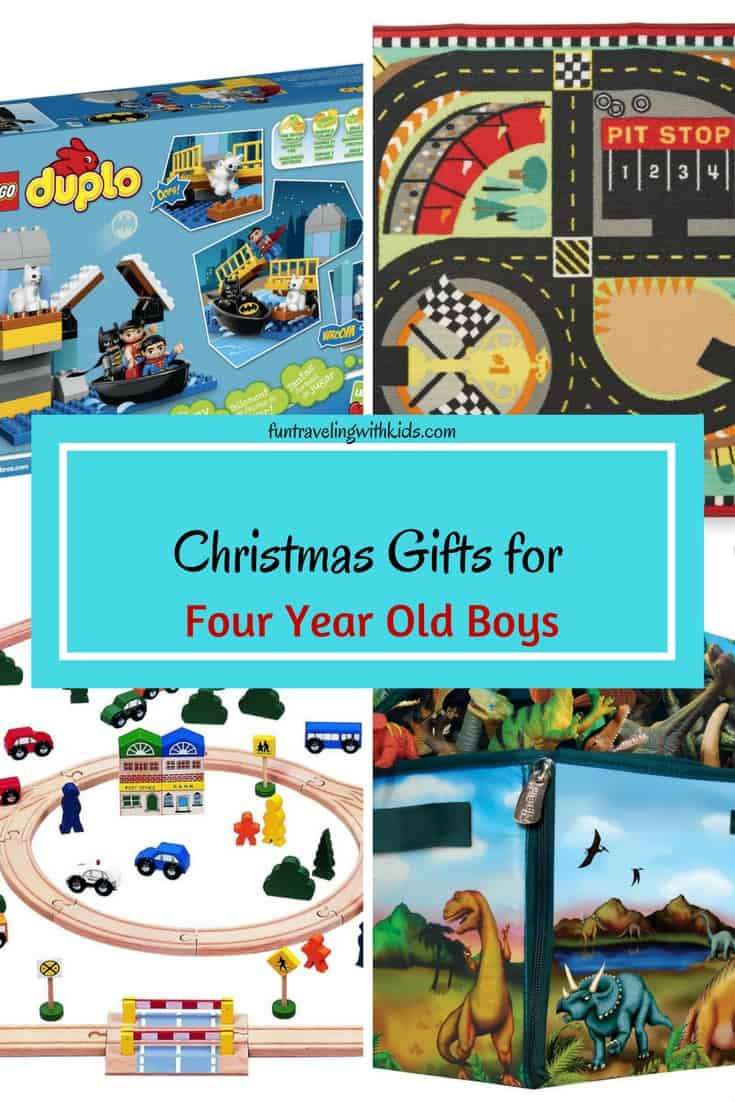 Christmas Gifts For Four Year Old Boys Fun Traveling