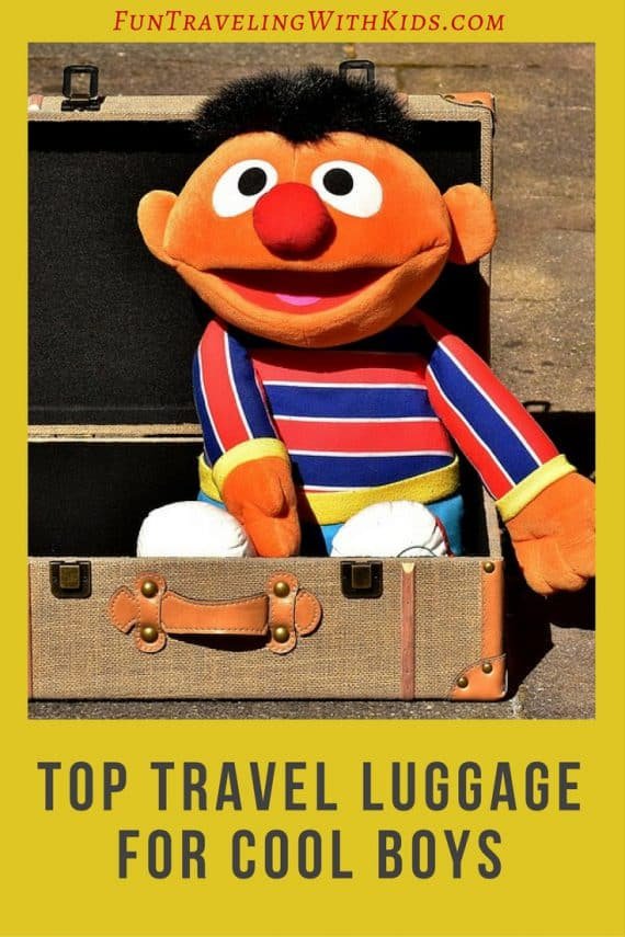 Top Travel Luggage For Cool Boys