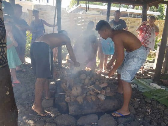 preparing the Umu