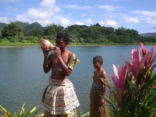 Fiji cultural show