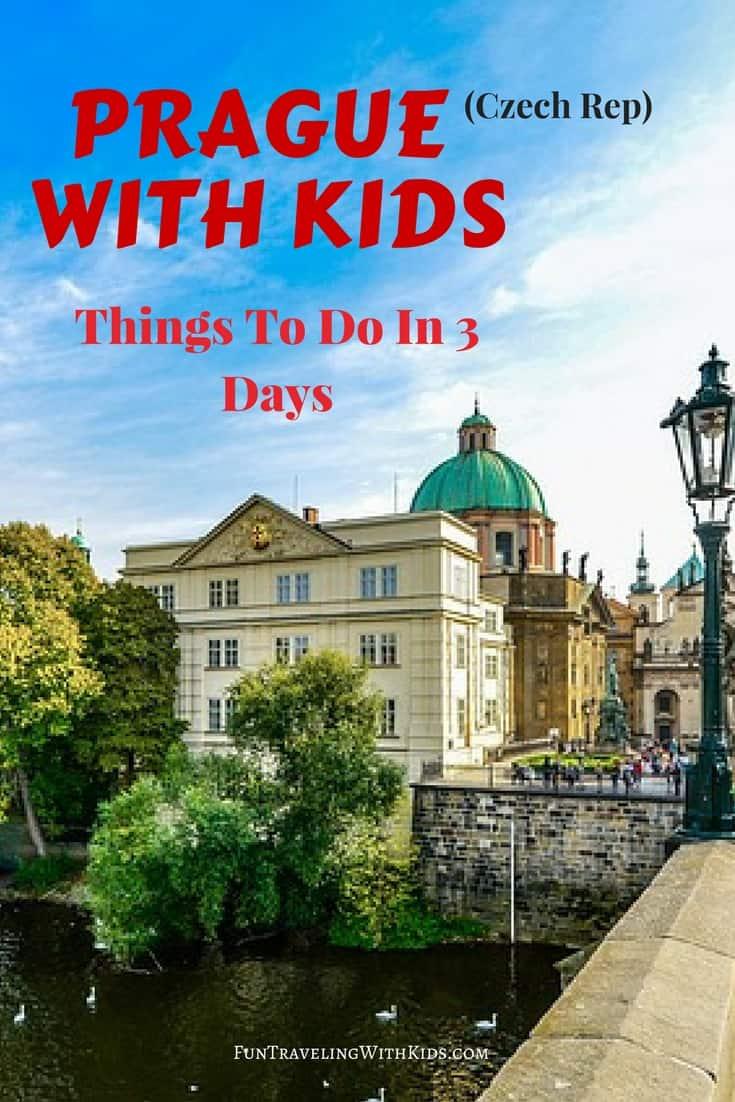 Prague with kids