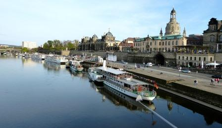 steamer paddle boats Dresden