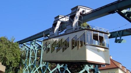Dresden suspension railway