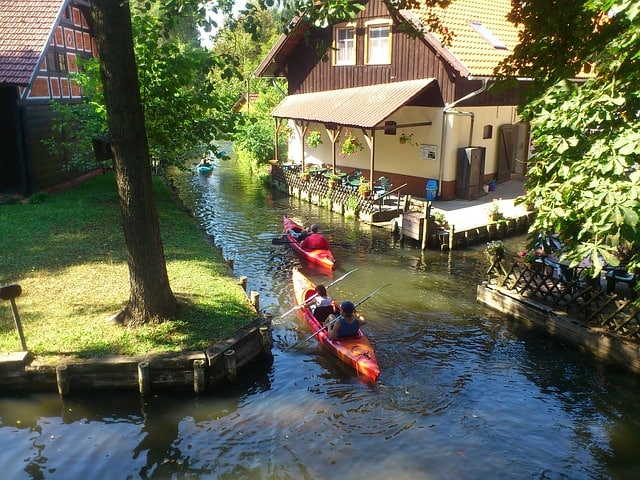 canoeing Spreewald