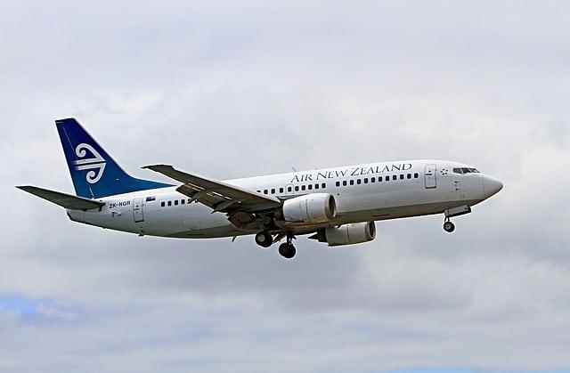 Air New Zealand airplane