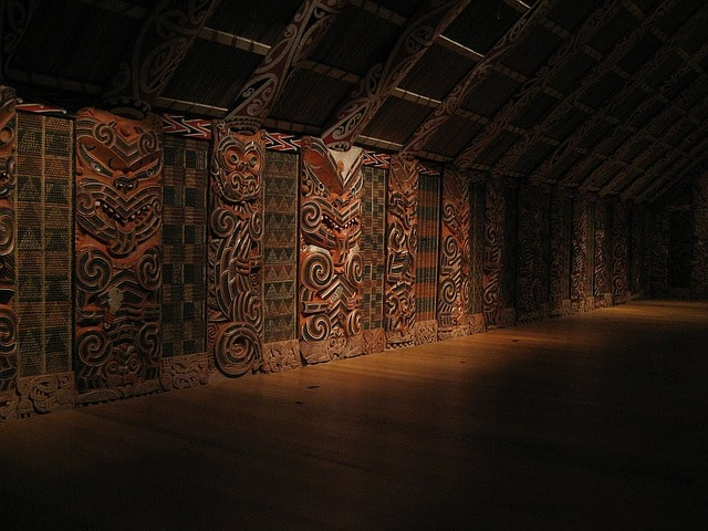 Auckland Museum - Maori Carvings