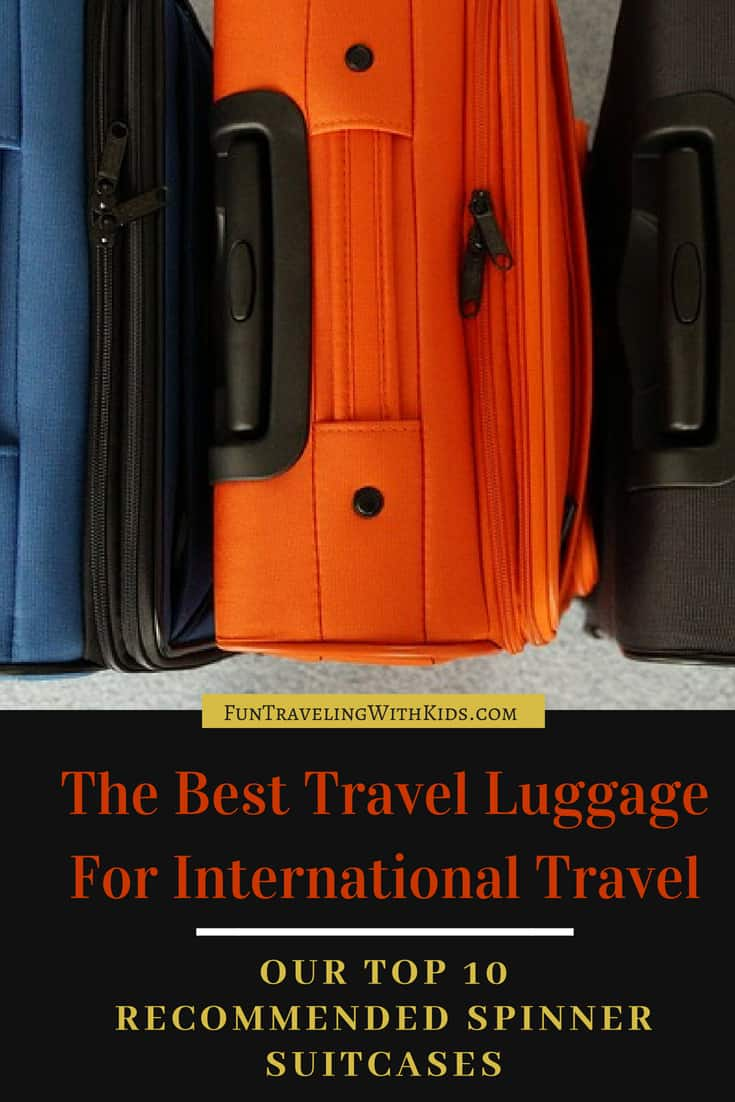 best luggage international travel