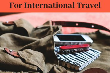 travel accessories for international travel