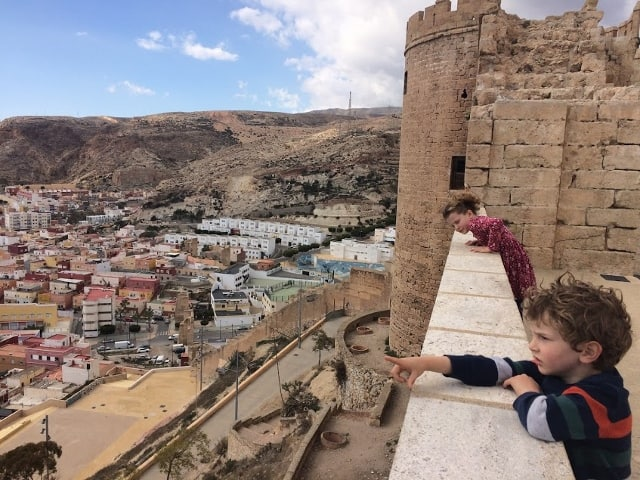 Almeria with kids