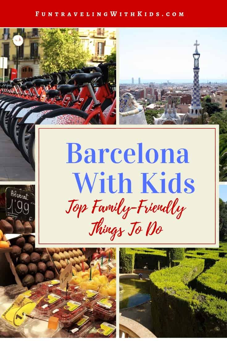 barcelona with kids
